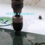 5.Врезка и герметичная запайка отводящей трубы (для станций)